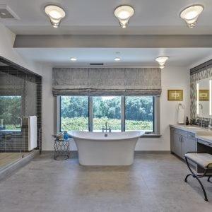 Neolith Sonoma Residence Interior Neolith Master Bath Flooring
