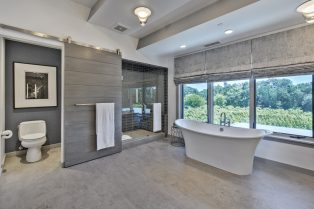 Neolith Sonoma Residence Interior Neolith Master Bath Wall Cladding & Flooring