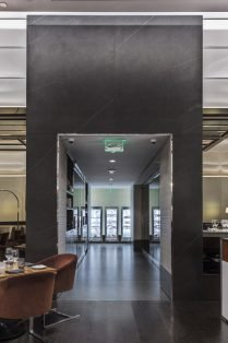Wolfgang Puck Restaurant Las Vegas Neolith Flooring and Wall Cladding Arch