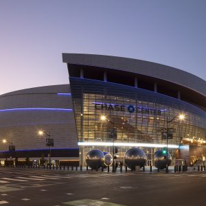 Warriors Chase Center Arena Neolith Surfaces Exterior Facade