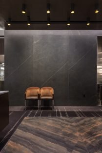 Wolfgang Puck Restaurant Las Vegas Neolith Flooring and Wall Cladding